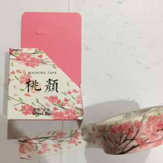 (FLASH SALE) Peach Blossom Washi Tape