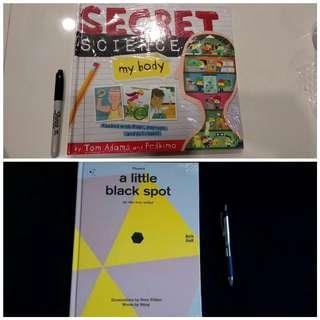 Secret Science my body BUNDLING  a little black spot BBW JKT 2018 BOOKS