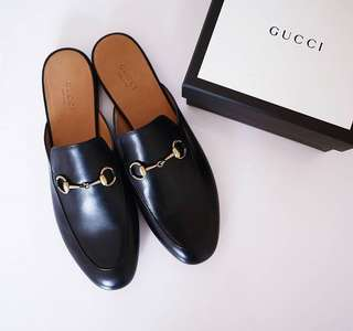 Gucci princetown slippers shoe