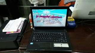 Laptop Acer Aspire 4738G core i5 ram 4GB hdd 500GB