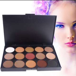 15 colours eyeshadow palette