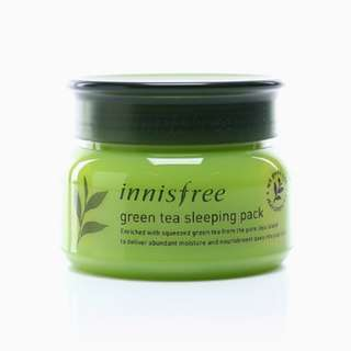 Sleeping Pack Innisfree Green Tea