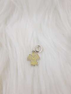 Sparkling Snow Angel charm