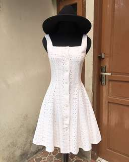 Dress Putih , Gaun Putih #mausupreme