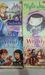 4 children story books