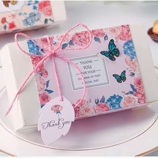 Butterfly wedding favors/ Berkat Box/ Doorgifts