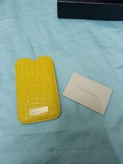 Burberry Prorsum 真鱷魚皮iphone 5 / SE case