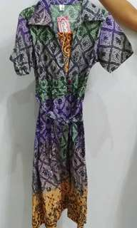dress batik baju batik etnik cantik batik asli