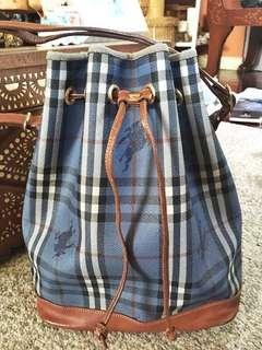 Burberrys/ Burberry Haymarket Bucket Bag