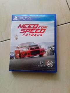 Need for speed payback (sell/swap!)