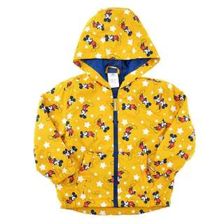 Japan Disneystore Disney Store Mickey Color Change Raincoat for Kids