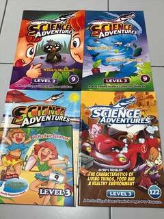 Science adventure science magazine children book