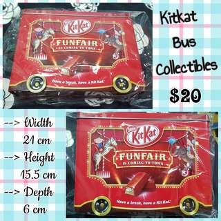Kitkat Bus Collectibles