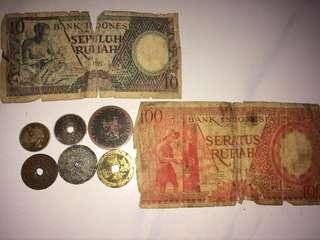 Uang tahun 1920-1958