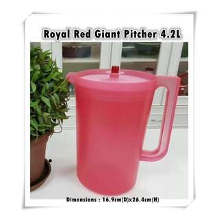 Royal Red Giant Pitcher 4.2L (1pc)