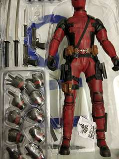 Hot toys deadpool 小爆皮
