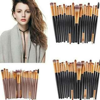 20 Pcs Lip eye brushes Fashion Complete Makeup Brush Set