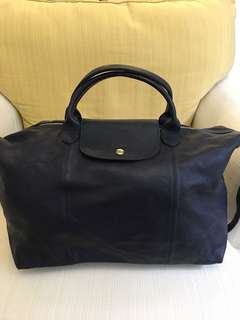 Authentic Brand new Long Champ le cuir