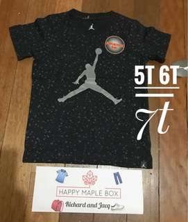 Jordan toddler shirts