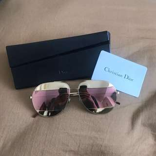 Christian dior reflective sunglasses