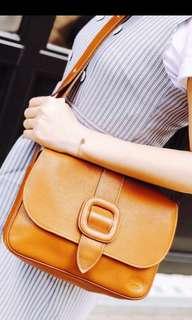 Vintage Longchamp 真皮袋 復古包 真品