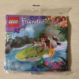 Lego Friends 30115 Jungle Boat Polybag