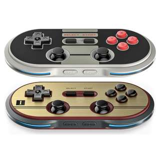 NEW NES30 Pro & FC30 Pro 8Bitdo Controller Switch Compatible Gaming Console Android iOS MacOS Windows PC Mobile Handphone HP iPhone apple itouch ipad pad samsung galaxy windows xp vista 7 8 etc