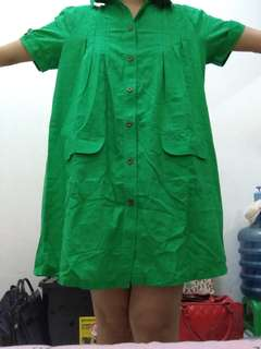 Dress kemeja wanita