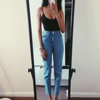 high rise mom jeans [w26]