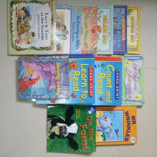 Children Books For 4-6yrs And Up /all For $15