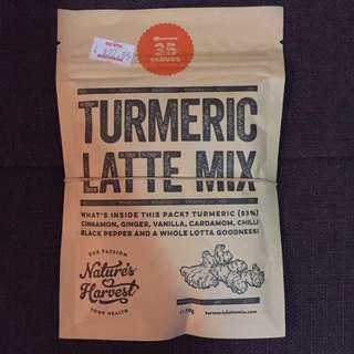 Nature's Harvest Turmeric Latte Mix - 35 Serves
