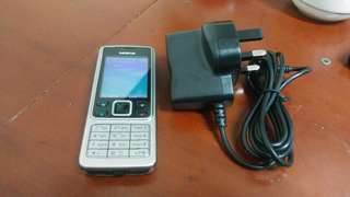 Nokia 6300 with charger