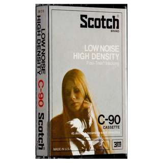 Vintage Cassette Tapes SCOTCH Early 1970s Sealed Unopened Unused