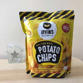 IRVINS 鹹蛋薯片 大包 Salted Egg Potato Chips (Big)