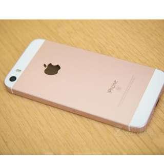 二手Iphone SE 16G玫瑰金