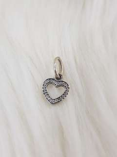 Symbol of Love Clear Charm