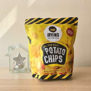 IRVINS 鹹蛋薯片 細包 Salted Egg Potato Chips (Small)
