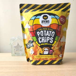 IRVINS 限量版鹹蛋薯片 大包 Limited Edition Salted Egg Potato Chips (Big)