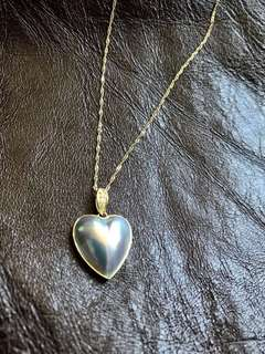 Southsea Mabe Pearl Necklace馬貝海水珍珠項鏈(包金鏈)