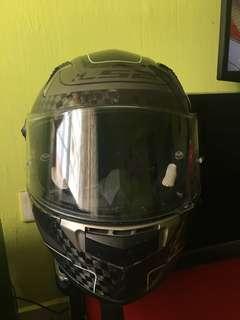 Ls2 full face carbon fiber original