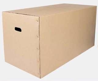 全新大紙皮箱100x50x50cm 搬屋紙箱