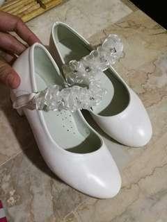 Sugar Kids White Wedge shoes