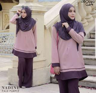 [Clearance!] Nadine Blouse (Pale Purple) size L