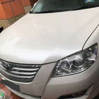TOYOTA CAMRY PEARL WHITE 2.4 VVT 2009