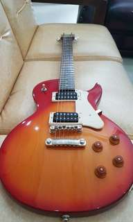Cort CR100 Gitar Elektrik Classic Rock Cherry Red Sunburst
