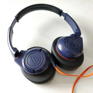 Audio Technica ATH AX 3 Navy Blue