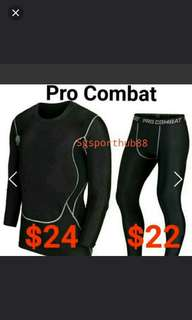 Pro Combat Men's Compression Sports Tight