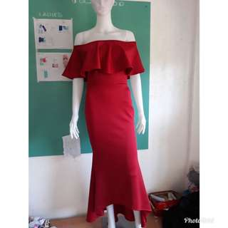 Apartment 8 inspired bodycon off shoulder