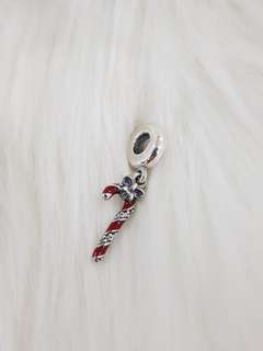 Sparkling Candy Cane Dangle charm
