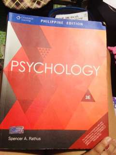 Psychology by: spencer a. Rathius